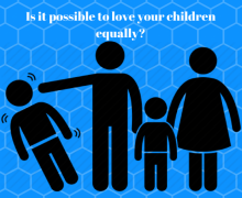 Is it possible to love your children equally?